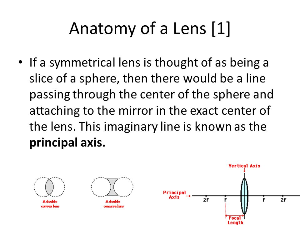 Anatomy of a Lens [1]